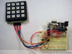 Decoding 4x4 keypad with AVR and 74C922