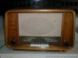 Biennophone radio from 1953 with mp3