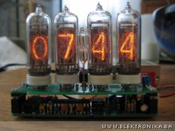 Warm Tube Clock v1 - User pictures