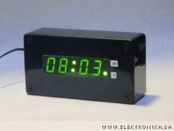Alarm clock with accelerometer and propeller chip