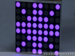 How to control 8x8 LED matrix with Arduino