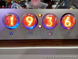 WiFi enabled Nixie clock using ESP8266