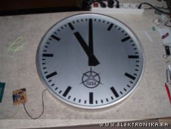 Electronics of Master Clock for Slave Clocks