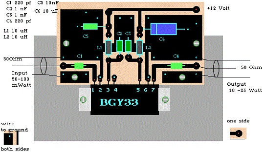 C Bgy Linear on 12v Power Supply Circuit
