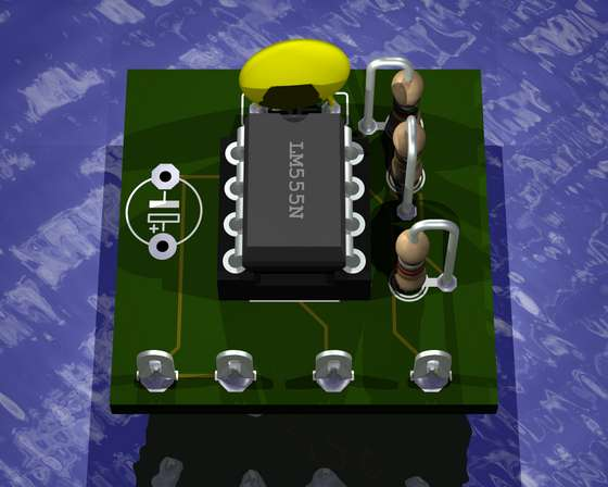 Render PCBs with Eagle layout editor and POV-ray - Elektronika.ba