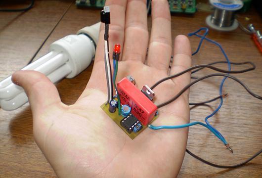 Dual channel IR remote control v1 - Elektronika ba