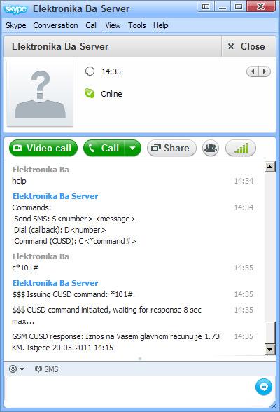 Skype GSM Gateway v1 - Elektronika ba