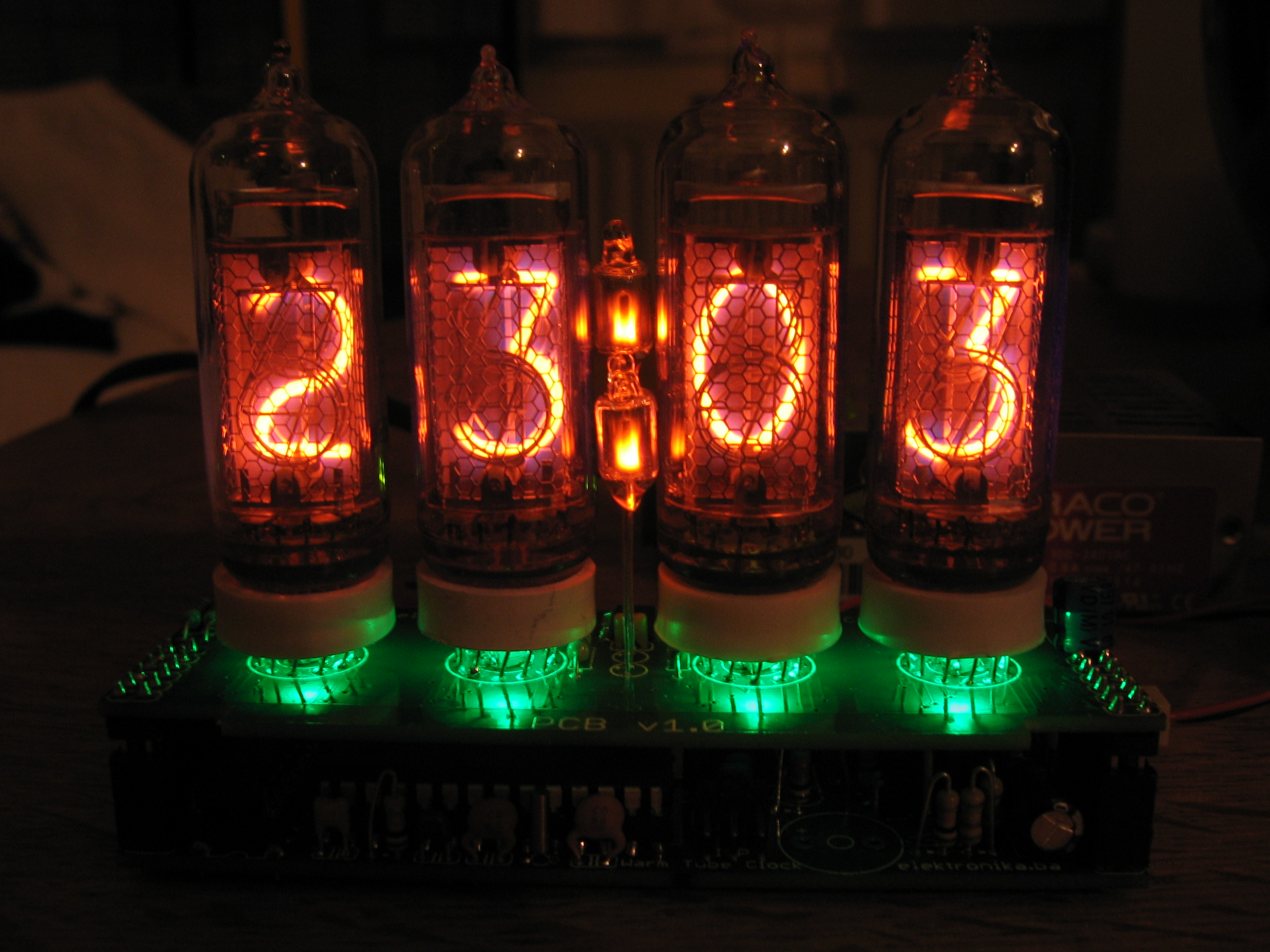 Warm Tube Clock V1 User Pictures Ir Light Dimmer Nixie3small