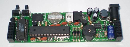 Warm Tube Clock v2 - Nixie Clock - Elektronika ba
