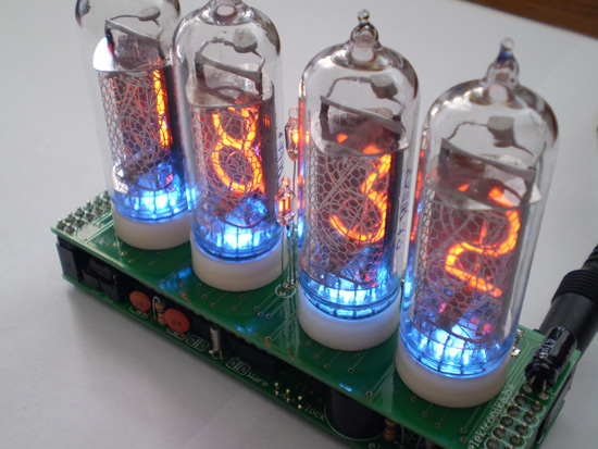 Warm Tube Clock v2 - Nixie Clock - Elektronika ba
