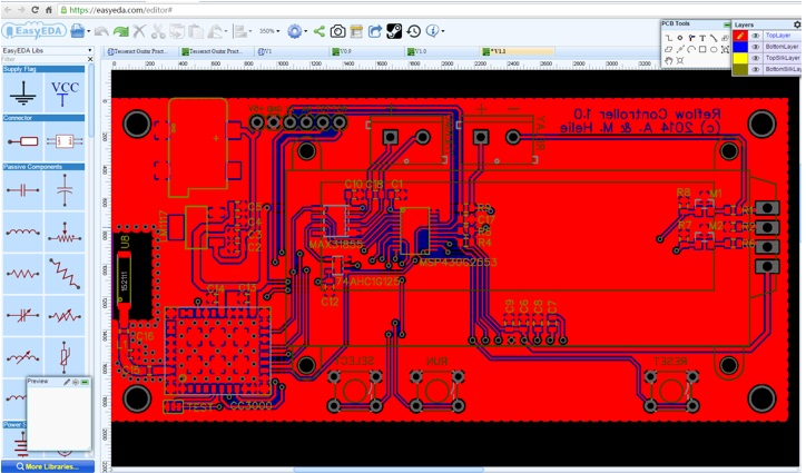 Circuit Simulator And Pcb Design Software Easyeda Elektronika Ba